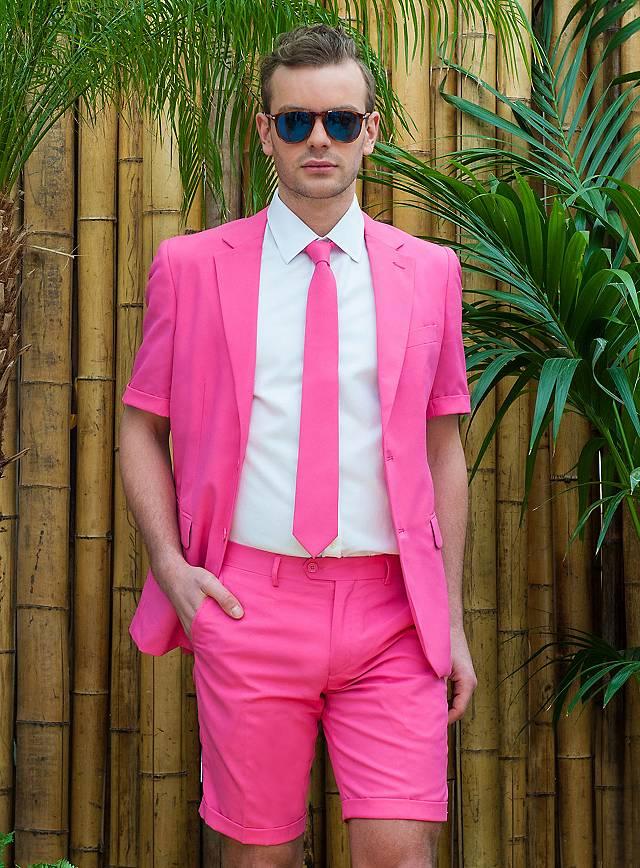 sommer opposuits mr pink anzug. Black Bedroom Furniture Sets. Home Design Ideas