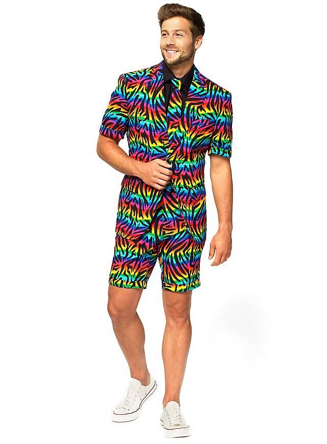 Sommer OppoSuits Wild Rainbow Anzug