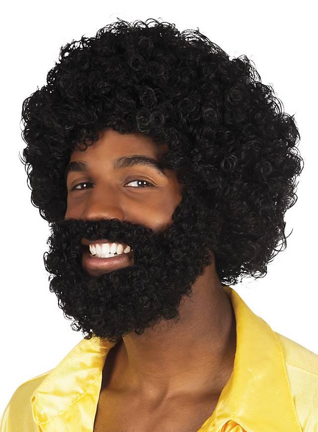 Soul Man Perruque avec barbe