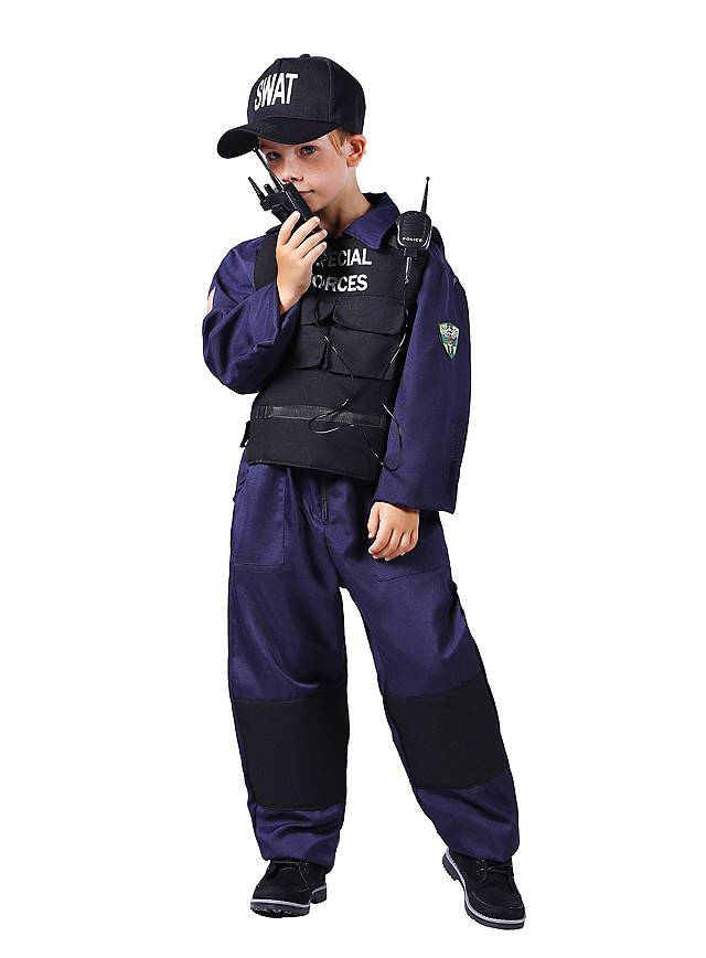 Special Forces Polizeikostüm für Kinder