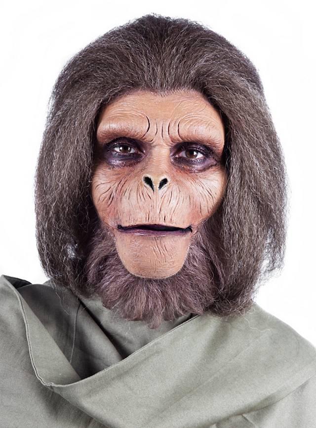 Affenmaske Schimpanse Schimpansenmaske Latex