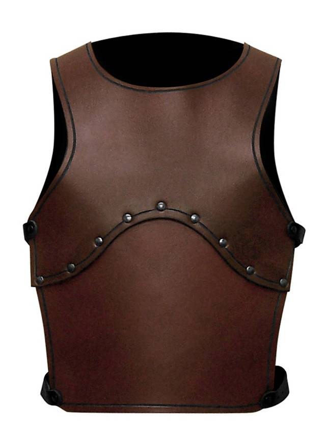 Squire Leather Kids Armor brown