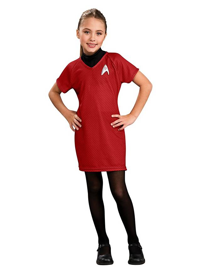 Star Trek Dress red for Children