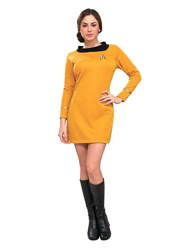 Star Trek Kleid gold - maskworld.com