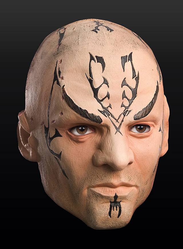 Star Trek Nero Deluxe Latex Full Mask