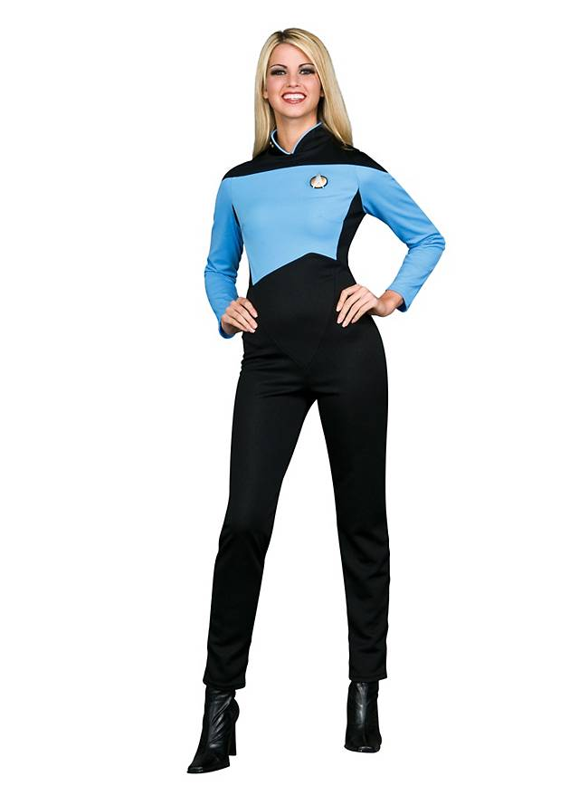 Star Trek Next Generation Jumpsuit Blue Maskworld Com
