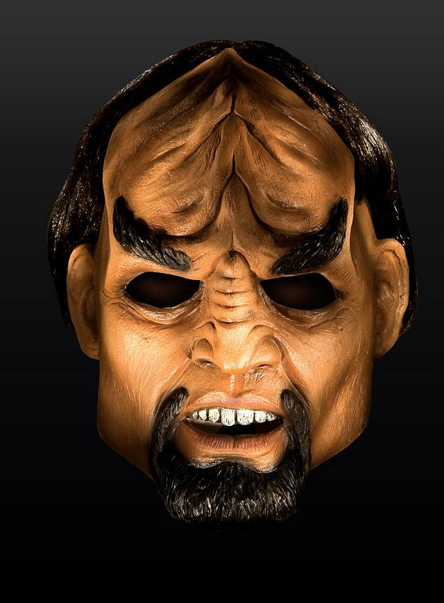 Star Trek Next Generation Worf Mask