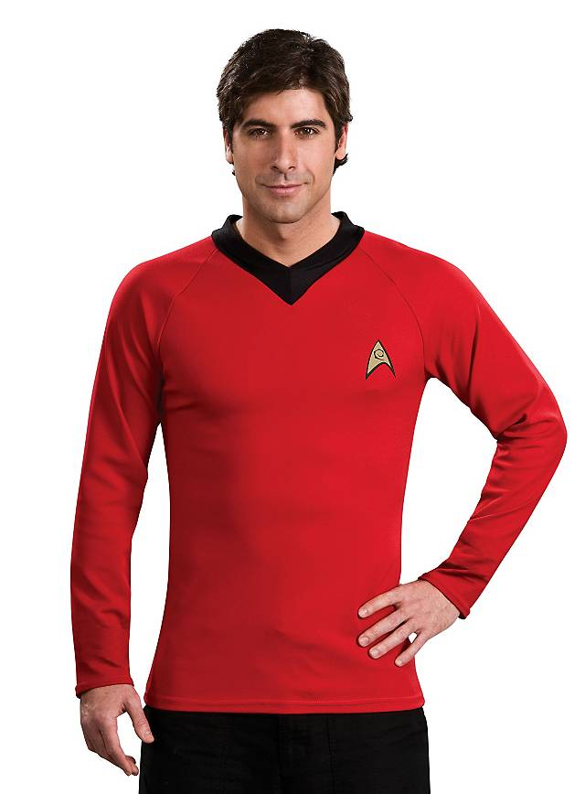 Star Trek Shirt classic red