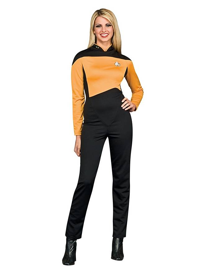 Star Trek The Next Generation Costume doré