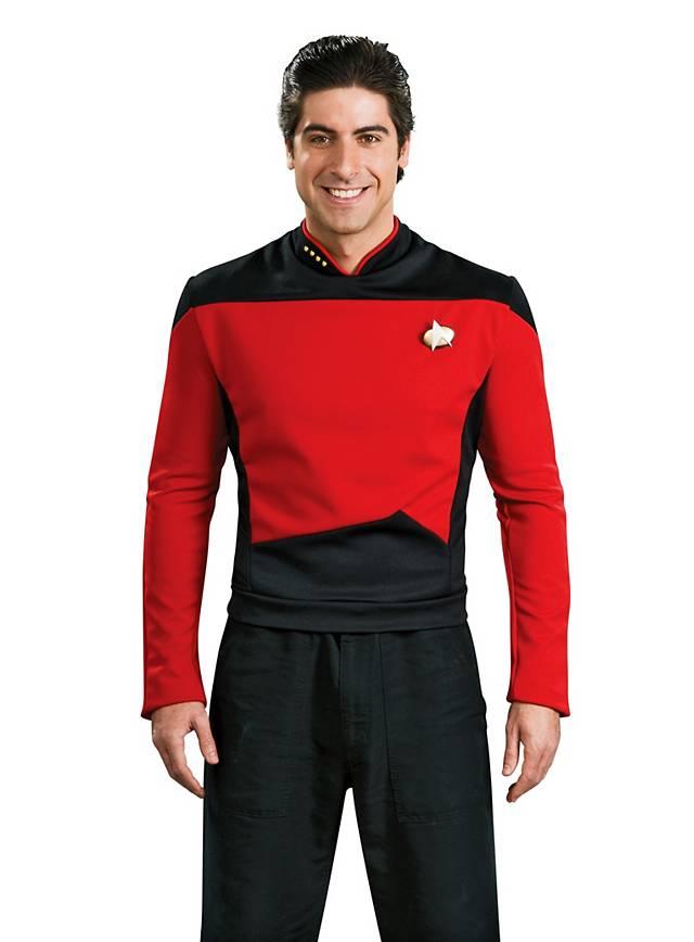 Star Trek The Next Generation Uniform red