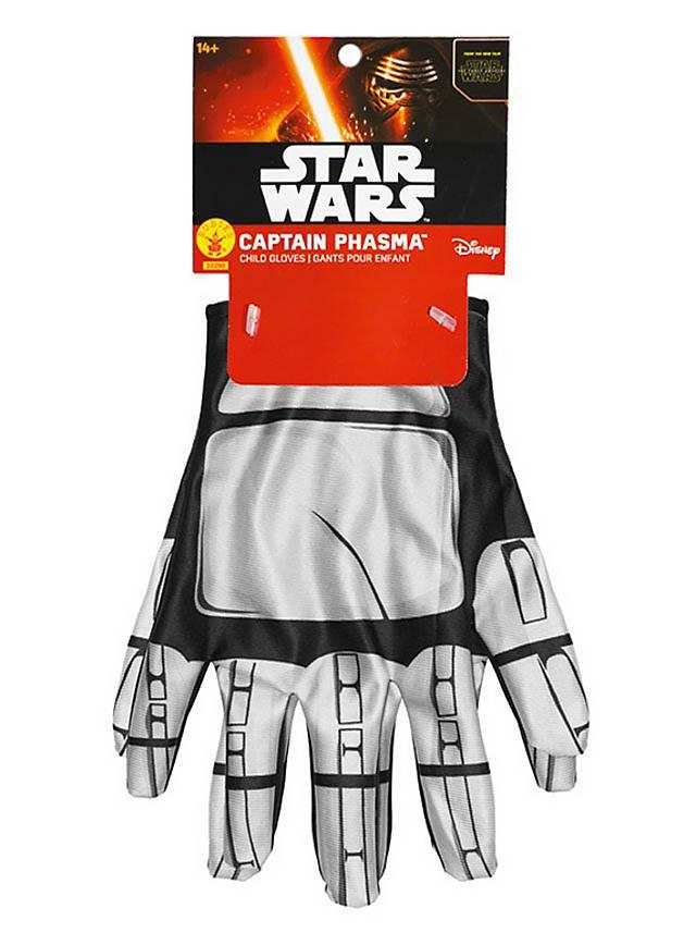 star wars 7 captain phasma handschuhe f r kinder. Black Bedroom Furniture Sets. Home Design Ideas