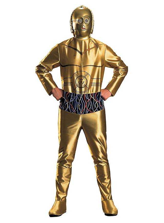 Star Wars C-3PO Costume  sc 1 st  Maskworld & Star Wars C-3PO Costume - maskworld.com