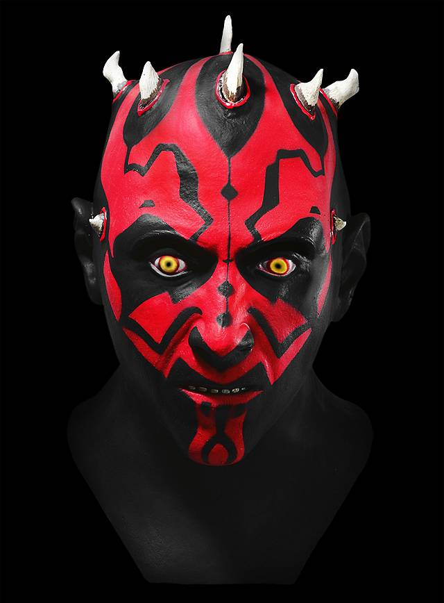 Star Wars Darth Maul Maske aus Latex