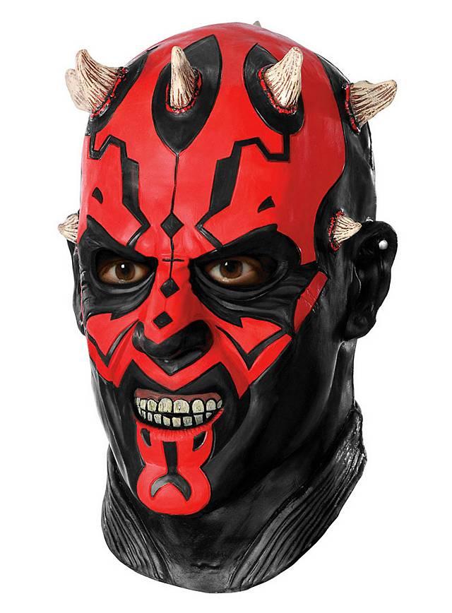 Star Wars Darth Maul Sith Maske aus Latex