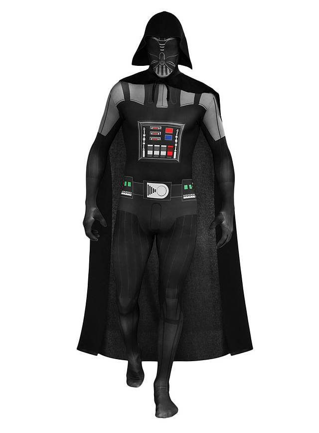 Star Wars Darth Vader Full Body Suit