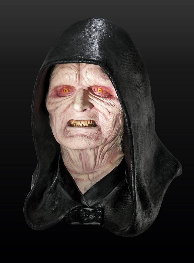 Star Wars Imperator Maske aus Latex