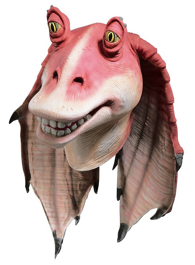Star Wars Jar Jar Binks Mask Maskworld Com