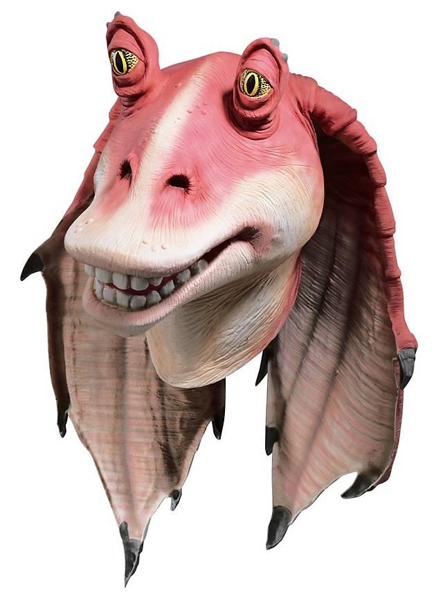 Star Wars Jar Jar Binks Mask - maskworld com
