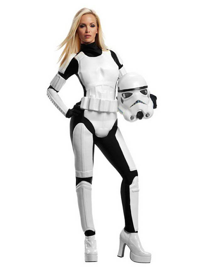 star wars miss stormtrooper kostum