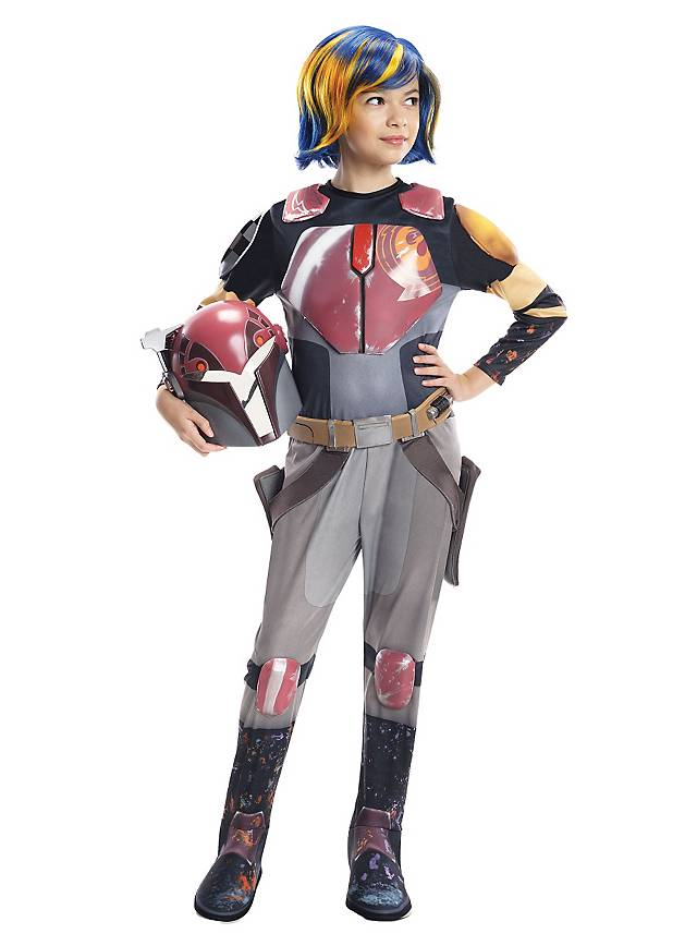 Star Wars Rebels Sabine Wren Kinderkostüm