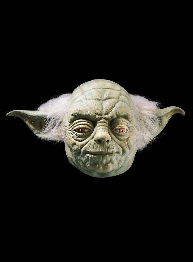 Star Wars Yoda Maske aus Latex