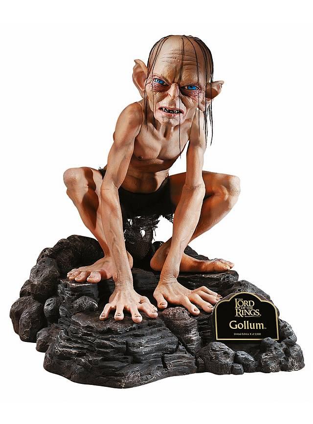 Figurine Seigneur des Anneaux Gollum avec Decor