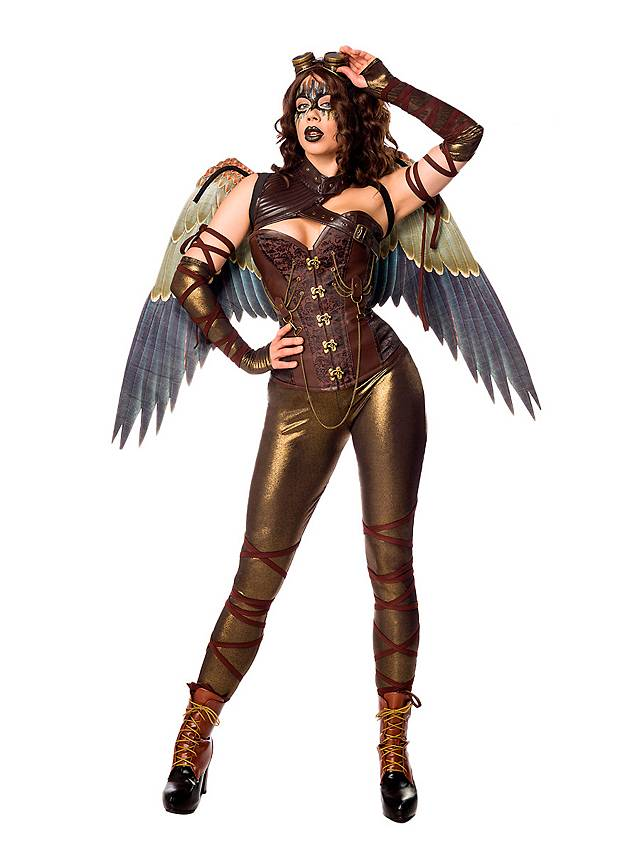Steampunk Engel Kostüm