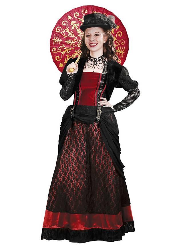Steampunk Kleid Madam - 16% Rabatt
