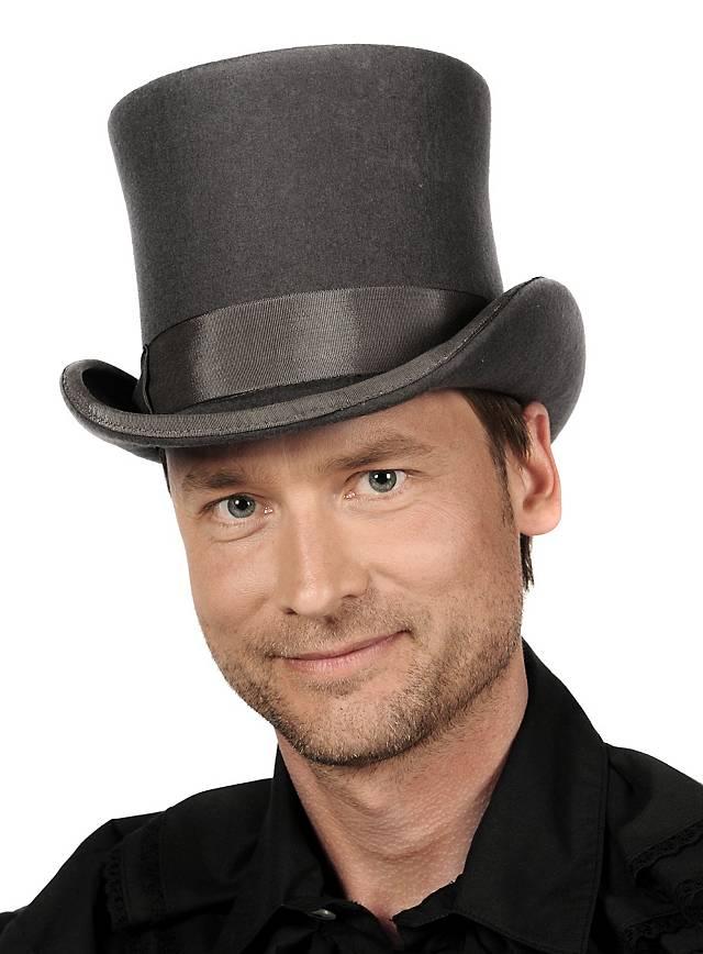 Steampunk Top Hat gray