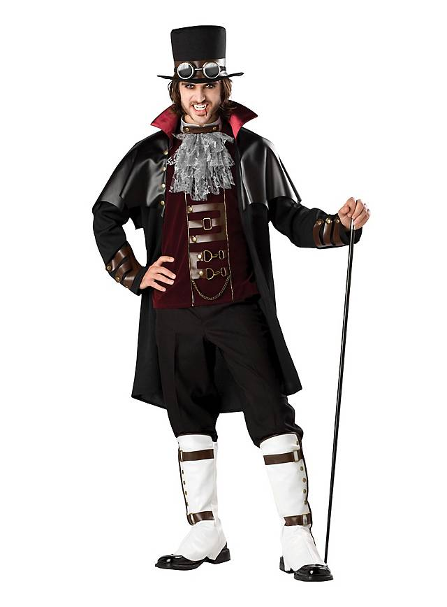 Steampunk Vampir Gentleman Kostüm