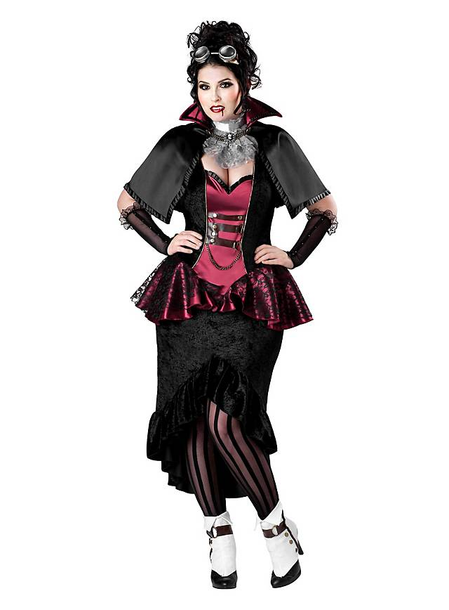 steampunk vampir lady kost m. Black Bedroom Furniture Sets. Home Design Ideas