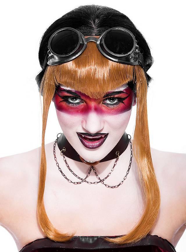 Steampunk Vampire Goggles black