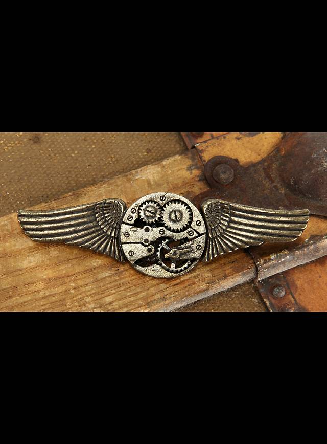 Steampunk Wing Badge
