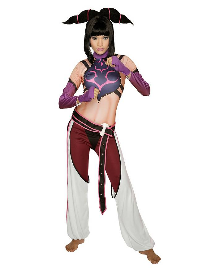 Street Fighter Juri Kostüm
