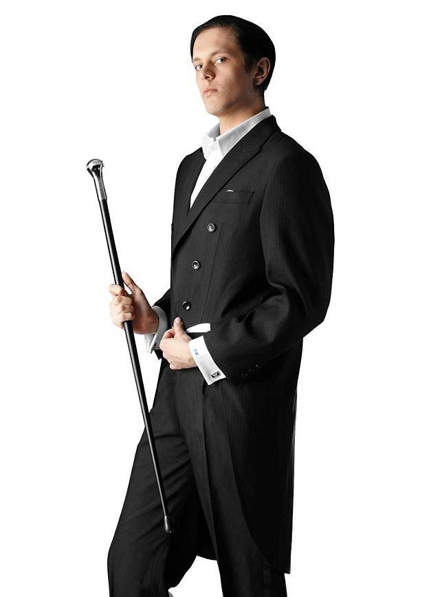 Suit with Tailcoat black for Your Black and White Party