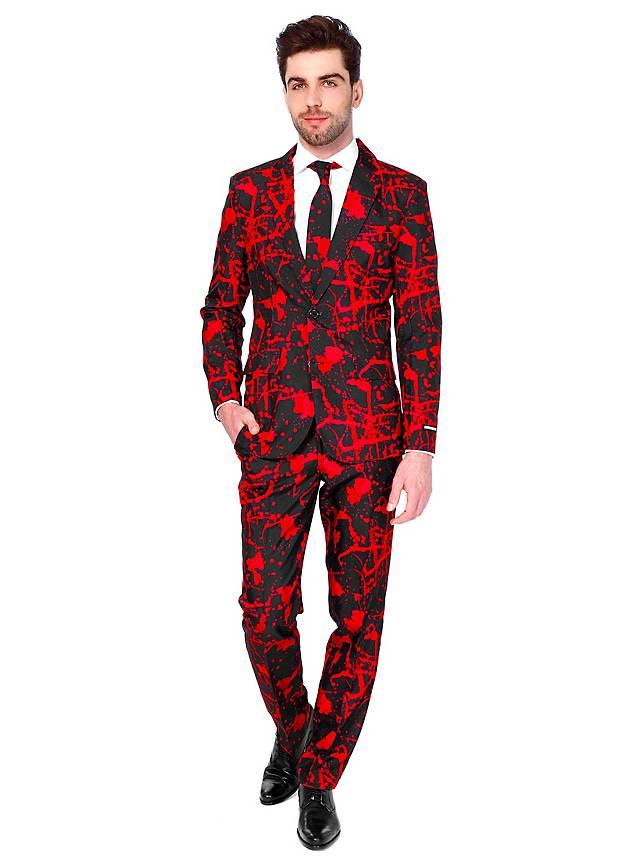 suitmeister black blood party anzug. Black Bedroom Furniture Sets. Home Design Ideas