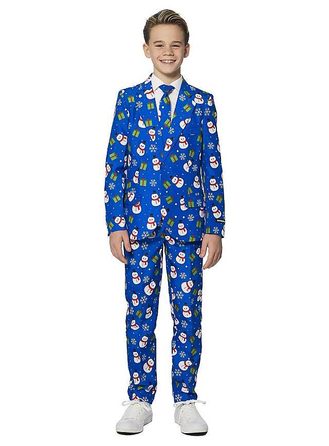SuitMeister Boys Blue Snowman Anzug für Kinder