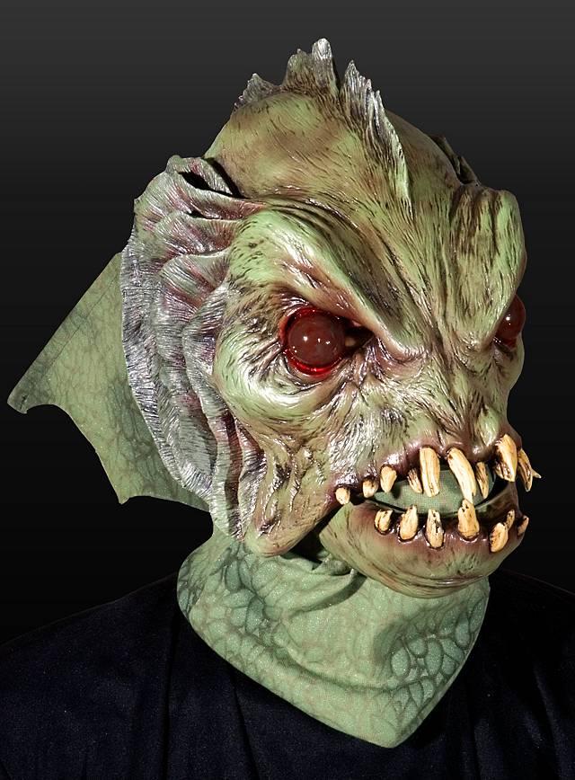 Sumpfmonster Deluxe Maske