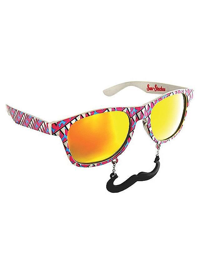 Sun-Staches 80er Partybrille