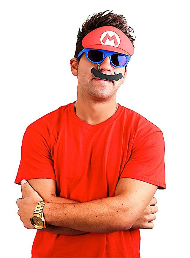 Sun-Staches Mario Partybrille