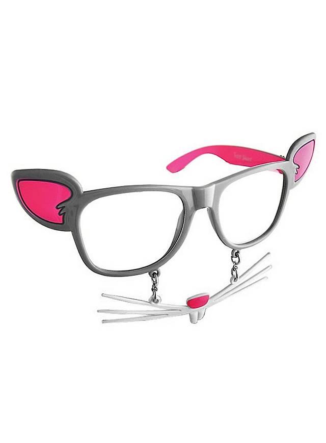 Sun-Staches Maus Partybrille