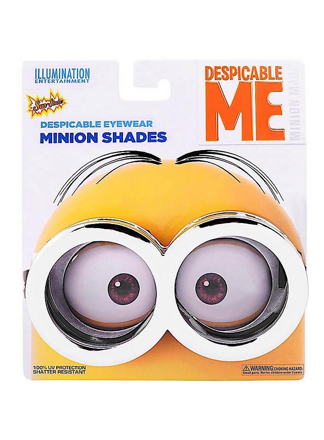 Sun-Staches Minion Brille silber
