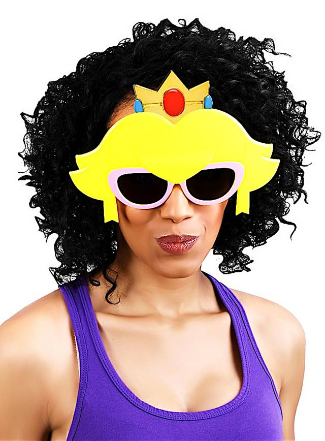 Sun-Staches Prinzessin Peach Partybrille