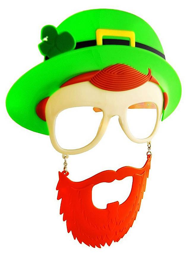 Sun-Staches St. Patrick's Day Partybrille