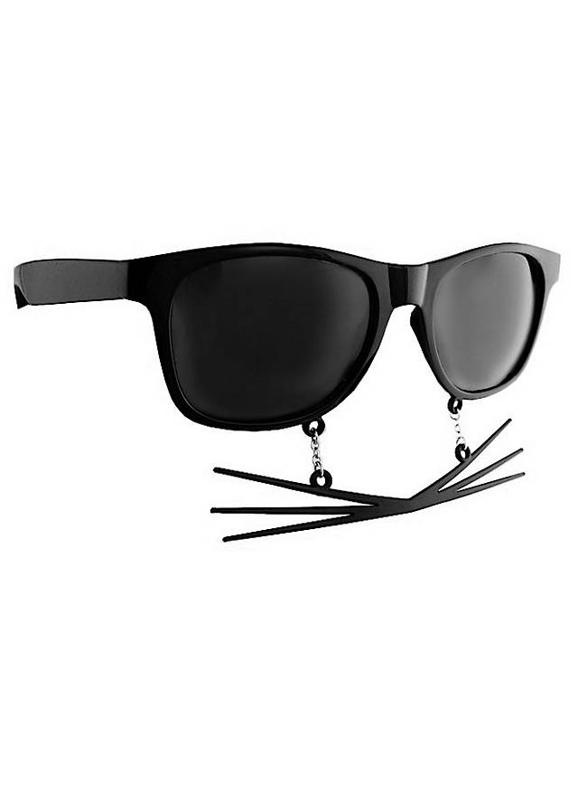 Sun-Staches Whiskers Party Glasses