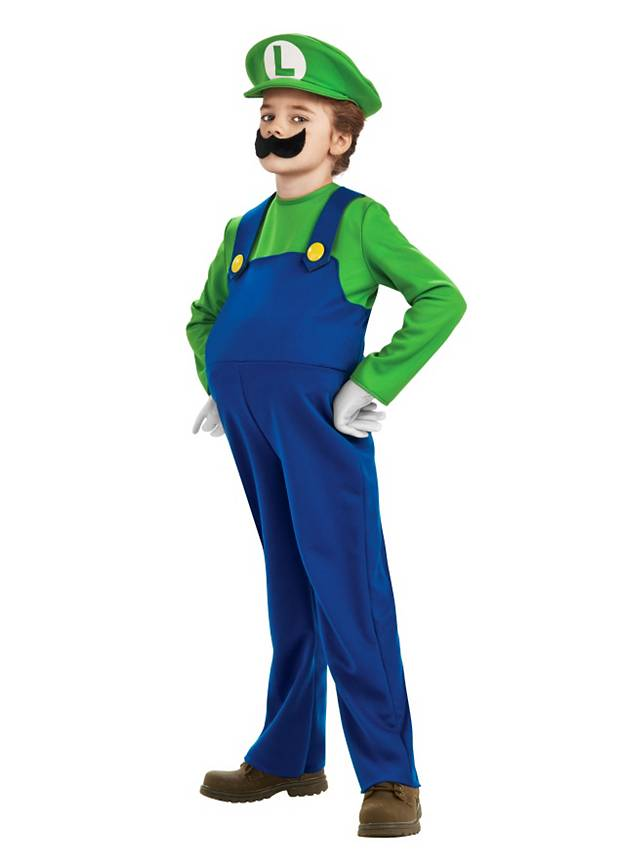 e779773bea0d2e Super Mario Luigi Deluxe Kinderkostüm - maskworld.com