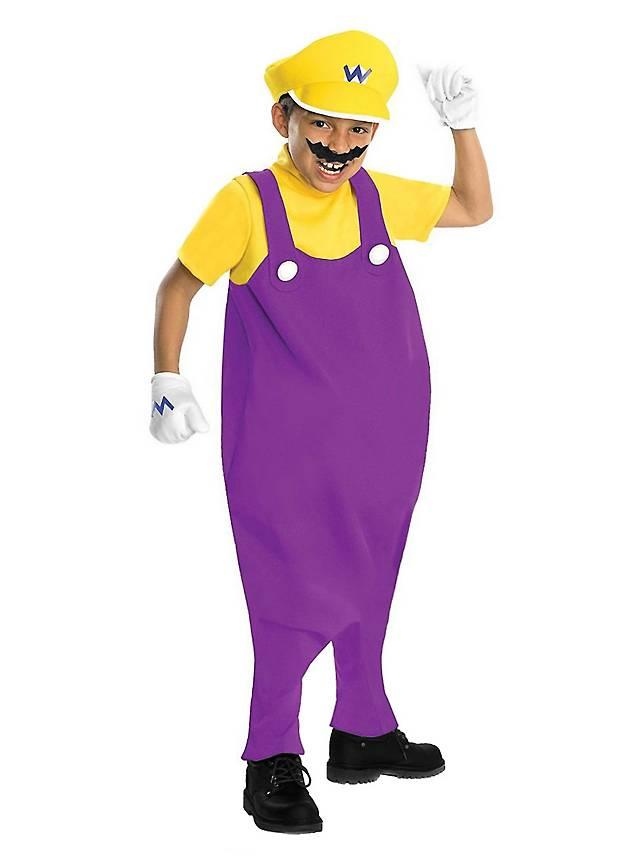 Super Mario Wario Kinderkostüm