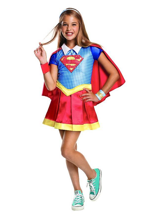 Supergirl Deluxe Kinderkostüm