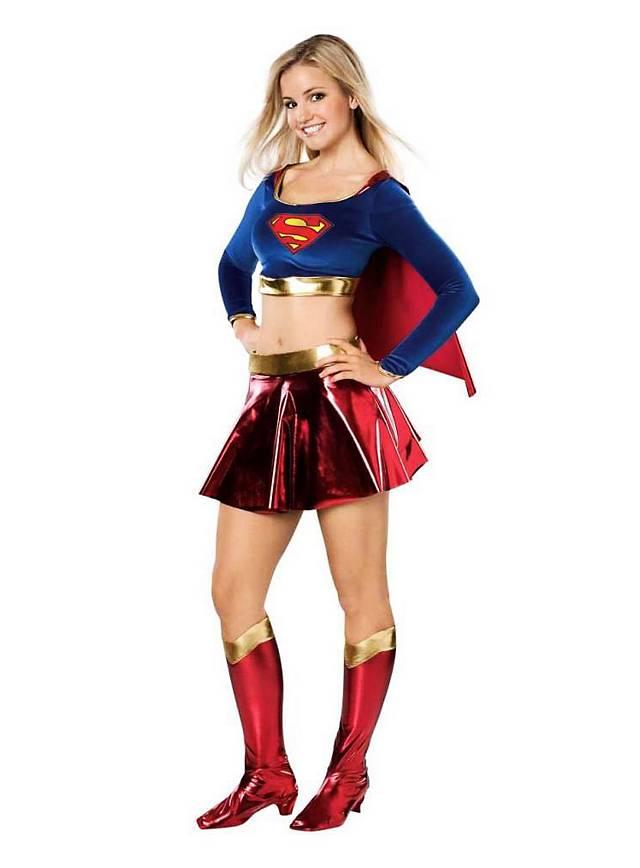 Supergirl Kostüm für Jugendliche