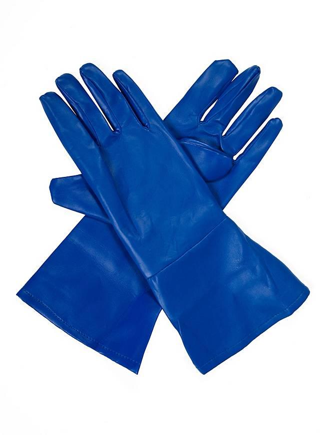 Superhelden-Handschuhe blau